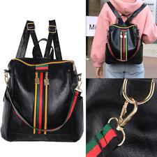 Women  Backpack PU Leather Shoulder School Rucksack Ladies Girls Travel Bag