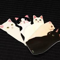 Cute 3D Cat Folding Card Handmade Happy Birthday Merry Christmas Cards F8R1