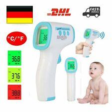 Fieberthermometer LCD Infrarot Stirnthermometer Kontaktlos Baby Ohr Oberflächen