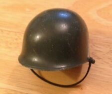 """VINTAGE """"ACTION MAN"""" ARMY SOLDIER HELMET WITH STRAP"""