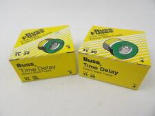 Lot of 8 Buss TL30 Fuses 30 Amp 125V Bussmann TL-30 Time Delay Edison Base