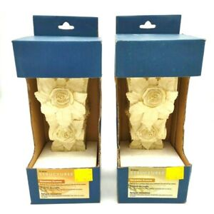 Graber Structures Decorative Sconces Curtain Rod Support Brackets Lot of 2