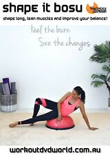 BALANCE TRAINER BOSU DVD - Barlates Body Blitz SHAPE IT Bosu Balance Sculpt