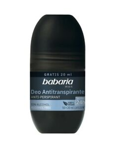 Babaria Roll on Anti Perspirant Deodorant for Men 70ml