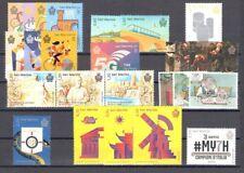 2018 San Marino , francobolli nuovi , Annata Completa 26 valori + 4 BF MNH**