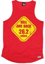 Nuevo 26.2 mi (approx. 42.16 km) para hombre Hell And Dry Fit Chaleco Camiseta cumpleaños regalo de moda que ejecutan