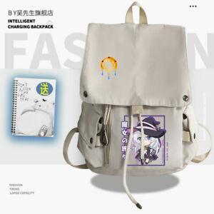 The Journey of Elaina Cosplay Backpack Shoulder bag High capacity schoolbag
