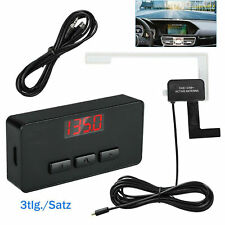 Universal DAB + car radio receiver AUX FM transmitter adapter + antenna radio