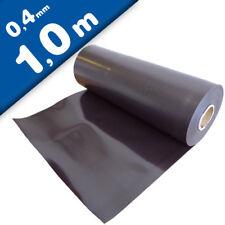 Magnetfolie roh braun unbeschichtet 0,4mm x 62cm x 100cm - Meterware