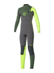 QUIKSILVER Youth 4/3 CYPHER CZ Wetsuit - XKGY - Size 8 - NWT