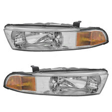 99-01 Mitsubishi Galant Set of Headlights (Fits: Mitsubishi Galant)