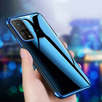 For Xiaomi Mi 10T Pro 10 Lite POCO X3 NFC Clear Plating TPU Flexible Case Cover