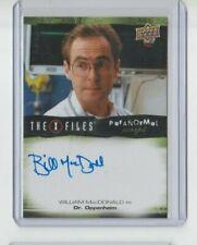 X-Files Ufos & Alien Edition Paranormal Autograph Trading Card William McDonald