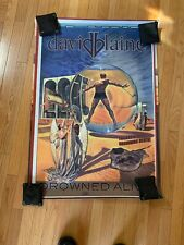 David Blaine Drowned Alive Poster Original