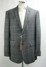 Herren Harry Brown Checked Blazer in grau/braun (44r)... - 5865