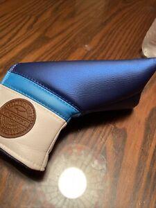 Mizuno M Craft  Blade Patch Blue putter cover