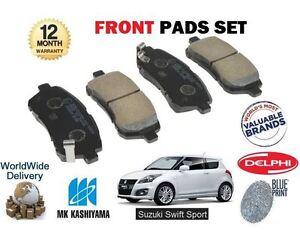 FOR SUZUKI SWIFT 1.6 SPORT M16A 2011-> NEW FRONT BRAKE PADS SET