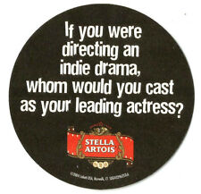 12 Stella Artois Sundance Film Fest Who Would You Cast  Beer Coasters