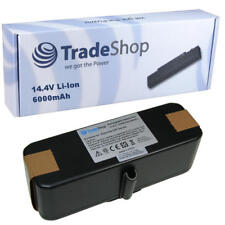 Trade-Shop Akku 6000mAh 14,4V Li-Ion für iRobot Roomba 500 600 700 800 900 Serie
