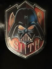 Star Wars Collectible SITH 19 X 13 Limited Edition Decor Metal Sign