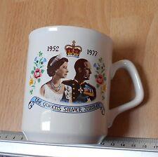 1952-1977 The Queens SIlver Jubile Coffee Mug