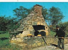 Carte postale CAMPAGNE vieux métiers boulanger four à pain