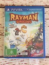 Rayman Origins PS Vita USED Australian label version