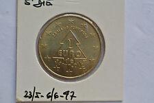 1 EURO DE ST DIE  23/5 - 6/6 - 1997