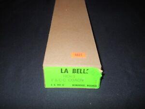 HOn3 Scale La Belle F&CC Coach Kit