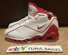Nike Shox VC 2 Vince Carter NBA Basketball 2002 Toronto Raptors Red UK 5.5 US 6Y