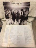 FLEETWOOD MAC -LIVE- 1980 2LP Vinyl Records