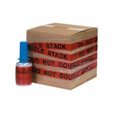 """Goodwrappers Identi-Wrap """"Do Not Double Stack"""" Stretch Film 80 G, 5""""x500'6 rl/cs"""