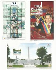 Venezuela: Between 2004-2013, small lot of 6 different souvenirs sheet... VE1703