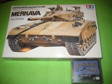 MERKAVA Mk.1 TANK BY TAMIYA & VERLINDEN VP535 - KOMBO SET 1/35