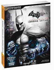 Batman Arkham City Armored Edition Signature Series Guide Bradygames Signature