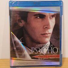 American Psycho - Uncut Version (Blu-Ray Disc, 2006) Christian Bale New
