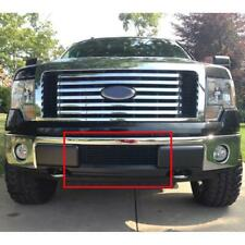 Billet Grille Insert Lower Bumper Black Fits 09-14 F150 Pikcup F66789H