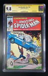 Amazing Spiderman #306 CGC 9.8 WP SS Todd McFarlane