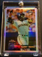 1996 BARRY BONDS TOPPS CHROME REFRACTOR GIANTS #119 (620)