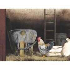 Billy Jacobs Chicken Feed Farm  Art Print 16 x 12
