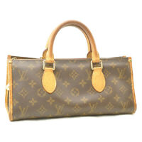 LOUIS VUITTON Monogram Popincourt Long Hand Bag M40008 LV Auth ar1879
