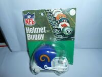 VTG 1970's NOS NFL HELMET BUGGY LOS ANGELES RAMS SPORTOY ORANGE PRODUCTS RARE