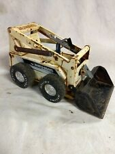 Vintage Nylint Pressed Steel Sand And Gravel Construction skid steer loader