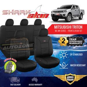Neoprene Seat Covers for Mitsubishi Triton ML MN Series Dual Cab 06/2006 - 2015
