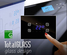 Temperatura-diferencia regulador madera caldera chimeneas touch screen Glass heizkreis