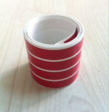 Striscie ruote cerchi moto colore ROSSO - adesivi/adhesives/stickers/decal