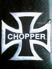 Iron Cross Chopper German Iron Cross Biker Patch