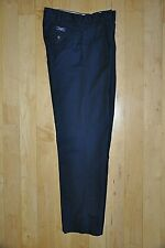 Boys Polo Ralph Lauren Size 20 Navy Blue Classic Chino Pleated Dress Pants LN