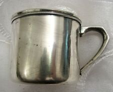 Vintage Japanese Sterling Silver Mug by ASAHI Japan 81g