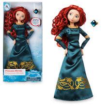 Nuevo Oficial Disney Brave - 30cm Merida Clásico Muñeca Con Anillo